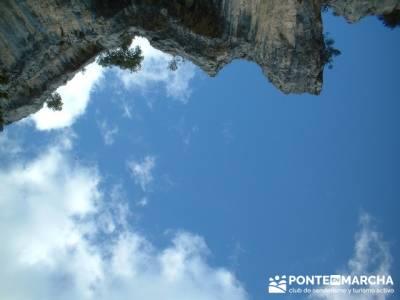 Cañón de Río Lobos - hiking; muniellos; mapa comunidad de madrid